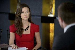Arrow: Summer Glau  in una scena dell'episodio City of Heroes, premiere della stagione 2