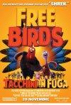 Free Birds - Tacchini in Fuga: la locandina italiana del film