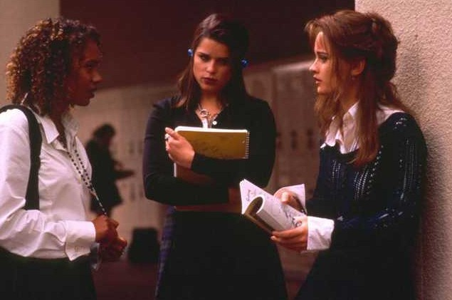 Robin Tunney, Neve Campbell, Rachel True in Giovani streghe