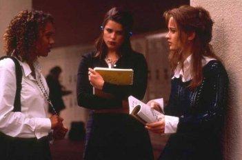 Robin Tunney, Neve Campbell, Rachel True in Giovani streghe