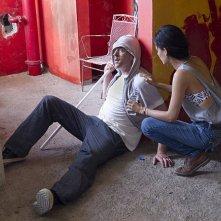 Homeland: Martina García e Damian Lewis in una scena dell'episodio Tower of David