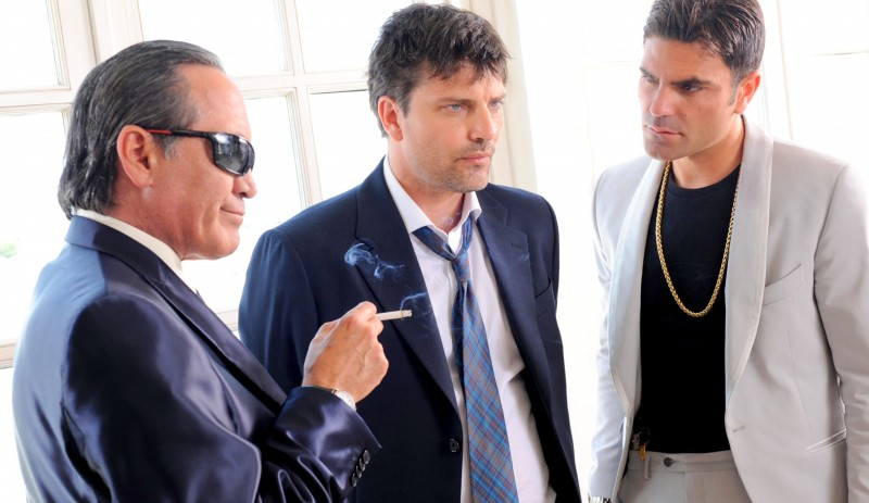 Il Ragioniere Della Mafia Tony Sperandeo Lorenzo Flaherty E Salvatore Ruocco In Una Scena 288713