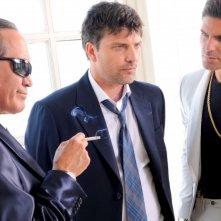 Il ragioniere della mafia - Tony Sperandeo, Lorenzo Flaherty e Salvatore Ruocco in una scena