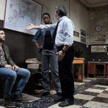 Song'e Napule: Alessandro Roja in una scena con Paolo Sassanelli, Antonello Cossia e Juliet Esey Joseph