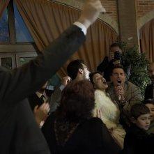 Song'e Napule: Giampaolo Morelli nei panni di Lollo Love in una scena del film