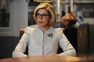 The Good Wife: Christine Baranski in una scena dell'episodio A Precious Commodity