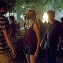The Vampire Diaries: Ian Somerhalder, Candice Accola e Kendrick Sampson nell'episodio True Lies