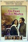 Un taxi color malva: la locandina del film