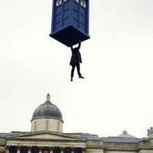 Doctor Who: una scena dell'episodio speciale The Day of the Doctor