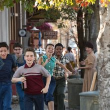 Last Vegas: i quattro protagonisti del film in versione bambinesca
