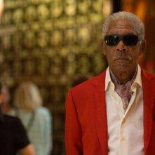 Last Vegas: Morgan Freeman in una scena del film