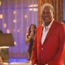 Last Vegas: Morgan Freeman sorridente in una scena del film