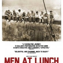 Men at Lunch: la locandina del film