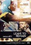 Leave to Remain: la locandina del film