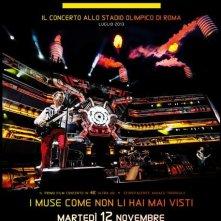 Muse - Live at Rome Olympic Stadium: la locandina del film