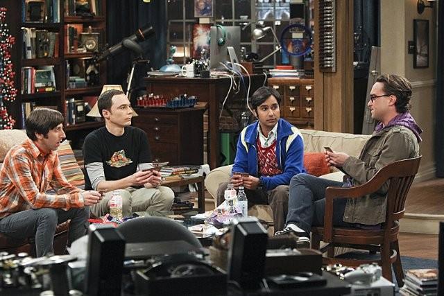 The Big Bang Theory Johnny Galecki Simon Helberg Jim Parsons E Kunal Nayyar Nell Episodio The Workpl 289051