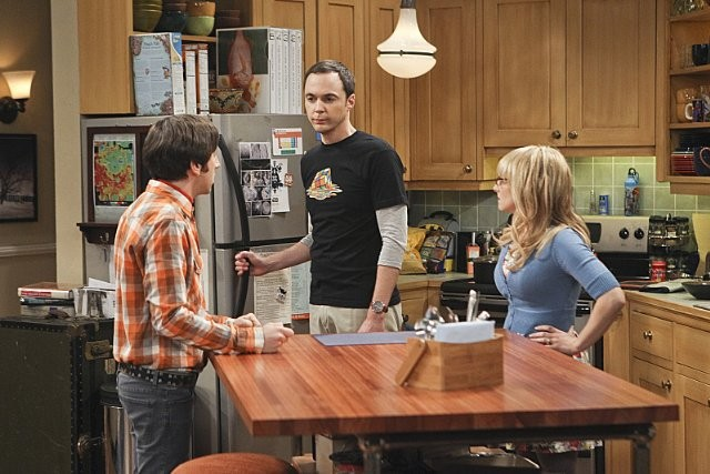 The Big Bang Theory Simon Helberg Jim Parsons E Melissa Rauch Nell Episodio The Workplace Proximity 289046