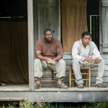 Twelve Years a Slave: Steve McQueen e Chiwetel Ejiofor sul set