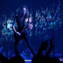 Metallica Through the Never: il chitarrista Kirk Hammett in una scena