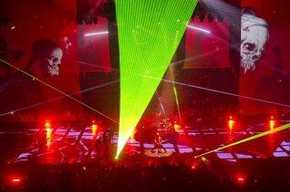 Metallica Through the Never: una scena del film concerto