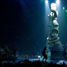 Metallica Through the Never: una scena del film concerto dedicato al gruppo rock statunitense