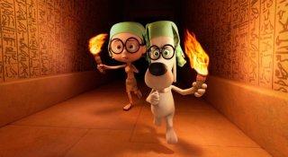 Mr. Peabody e Sherman: i due protagonisti della storia a spasso nel tempo