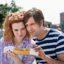 Sole a catinelle: Checco Zalone e Miriam Dalmazio in una scena del film sono Checco e Daniela