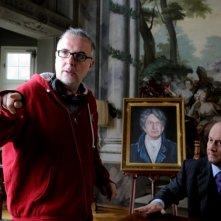 Un boss in salotto: Luca Miniero sul set con Alessandro Besentini detto Ale