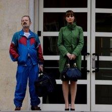 Un boss in salotto: Paola Cortellesi con Rocco Papaleo in una scena del film
