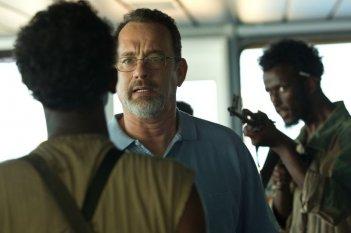 Captain Phillips - Attacco in mare aperto: Tom Hanks in una scena del film è il Capitano Richard Phillips