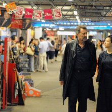 Something Good: Luca Barbareschi con Zhang Jingchu in una scena del thriller