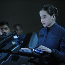 Ender's Game: Hailee Steinfeld in una scena è Petra