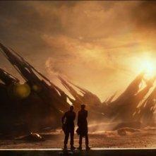 Ender's Game: una scena del film
