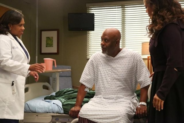 Grey S Anatomy Debbie Allen Chandra Wilson E James Pickens Nell Episodio I Bet It Stung 289437