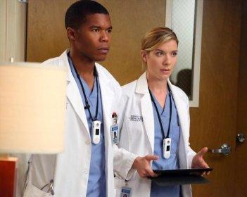 Grey's Anatomy: Gaius Charles e Tessa Ferrer nell'episodio I Bet It Stung