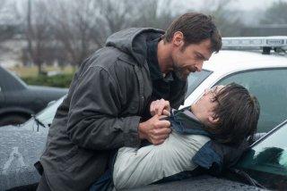 Prisoners: Hugh Jackman e Paul Dano in una concitata scena del film
