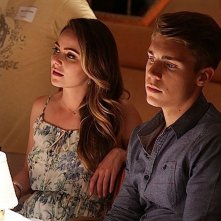 The Canyons: Amanda Brooks e Nolan Gerard Funk sul set