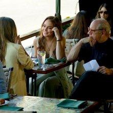 The Canyons: Paul Schrader con Lindsay Lohan e Amanda Brooks sul set