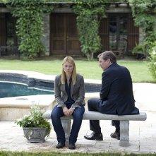 Homeland: Claire Danes e Martin Donovan nell'episodio Game On