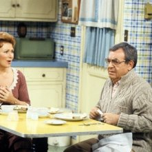 Marion Ross con Tom Bosley nel telefilm Happy Days