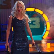 Amber Heard in una scena di Machete Kills nei panni di Miss San Antonio