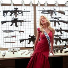 Amber Heard in una sensuale scena di Machete Kills