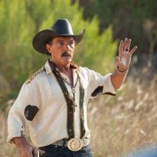 Antonio Banderas in un'immagine di Machete Kills