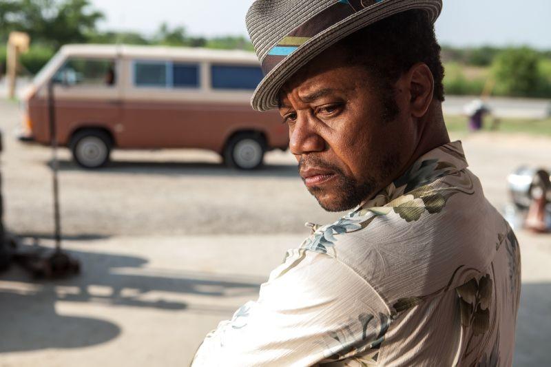 Cuba Gooding Jr. in una bella immagine di scena di Machete Kills