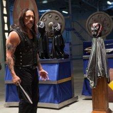 Danny Trejo in un'immagine tratta da Machete Kills