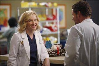 Grey's Anatomy: Jessica Capshaw e Justin Chambers nell'episodio Map of You