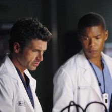 Grey's Anatomy: Patrick Dempsey e Gaius Charles nell'episodio Map of You
