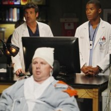 Grey's Anatomy: Patrick Dempsey, Gaius Charles e Jay Cramer nell'episodio Map of You