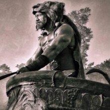 Hercules - Il Guerriero: una maestosa immagine di Dwayne Johnson in costume di scena
