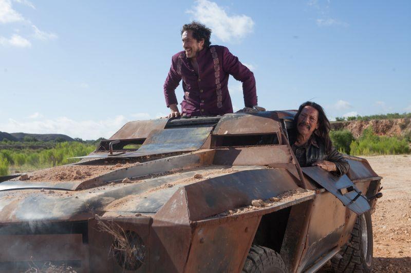 Machete Kills Danny Trejo Con Demian Bichir In Una Scena Del Film 289993